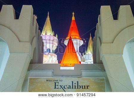 Las Vegas Excalibur Hotel