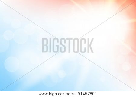 Abstract blurred bokeh pattern background illustrarion
