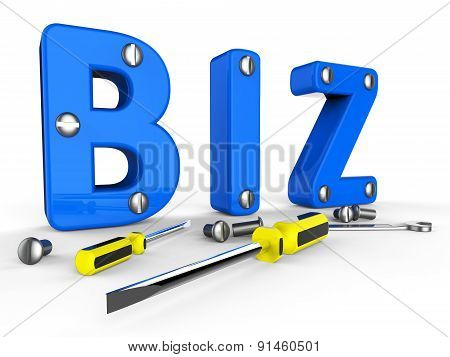 Business Word Means Buying Sell And Corporate