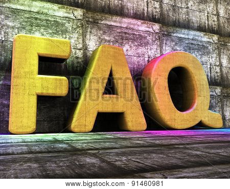 Faq Online Means World Wide Web And Advisor