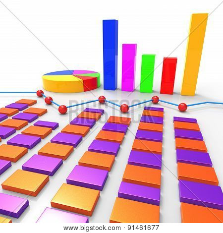Graph Report Means Finance Data And Information