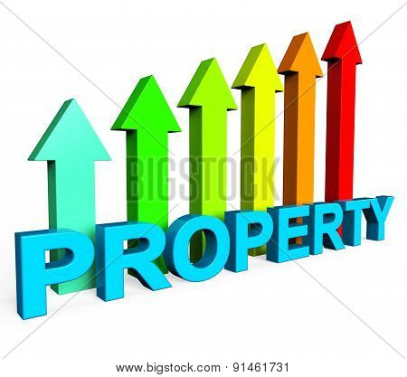 Property Value Increasing Shows On The Market And Building