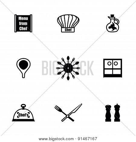 Vector Chef icon set