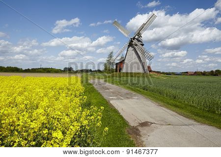 Windmill Bierde (petershagen, Germany)