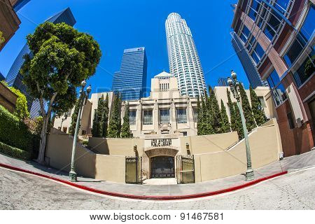 Public Library Downtown Los Angeles