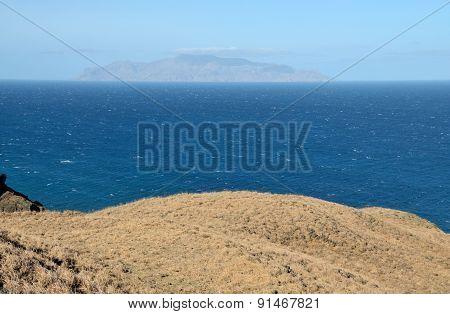 Dry Plateau In Fogo