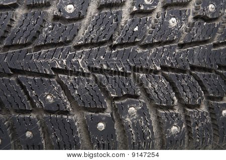 Old Winter Tire
