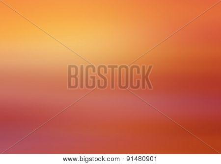 Colorful Sky After Sunset, Orange  Background
