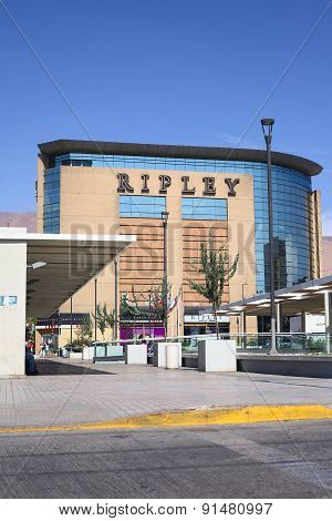 Ripley Department Store in Iquique, Chile
