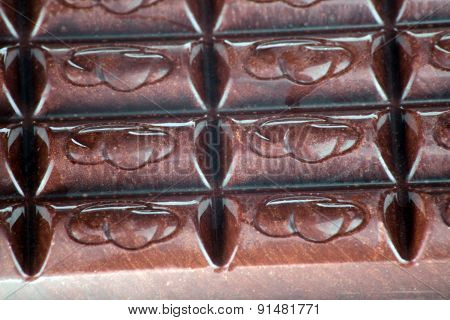 Bar Of  Brown Chocolate