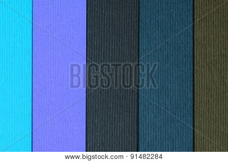 Colored Paper Stripes