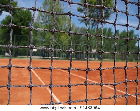 net for tennis