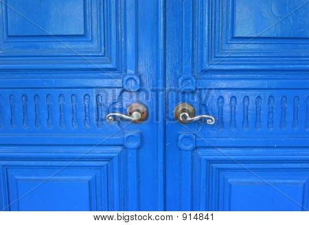 In Through The Blue Door