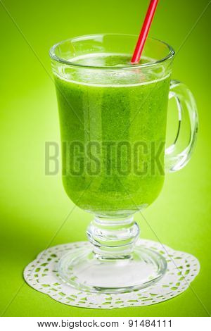 Healthy Green Juice Smoothie
