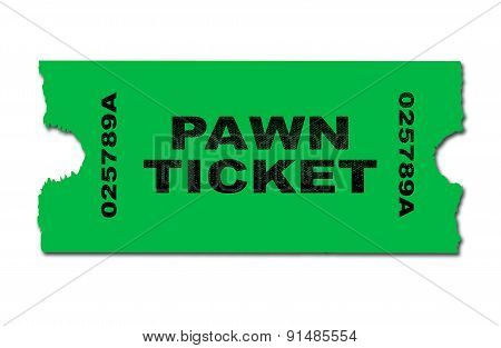 Pawn Ticket