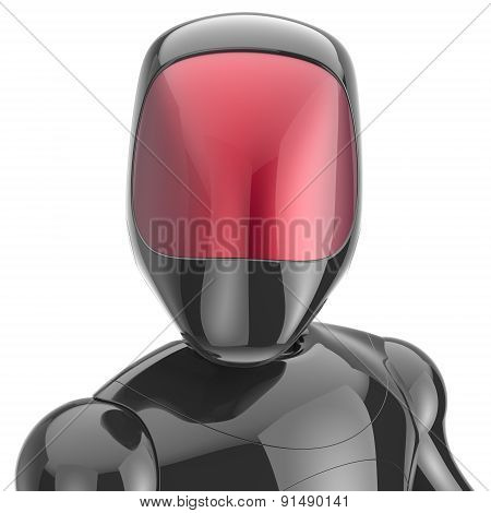 Cyborg Black Robot Android Futuristic Cyberspace High Tech