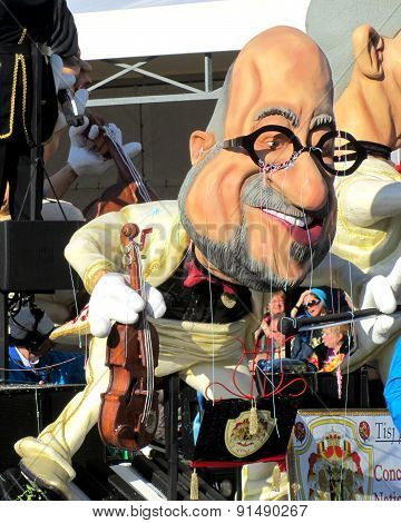 'Charles Michel' Carnival aalst