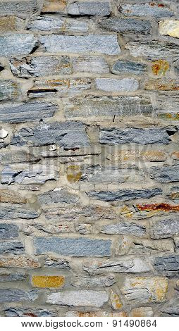 Rough Wall Stone Texture Close Up Vertical