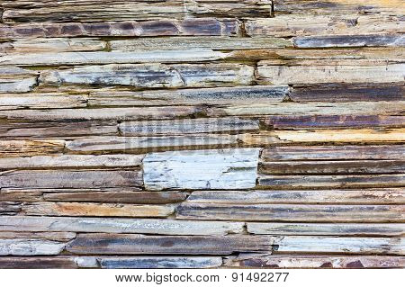 Stratigraphic Close Up Material Stone Natural Cracked Texture