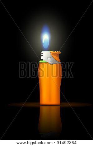 small lighter