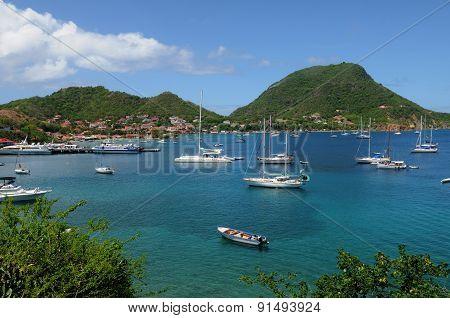 France, The Archipelago Of Les Saintesin Caribbean Sea