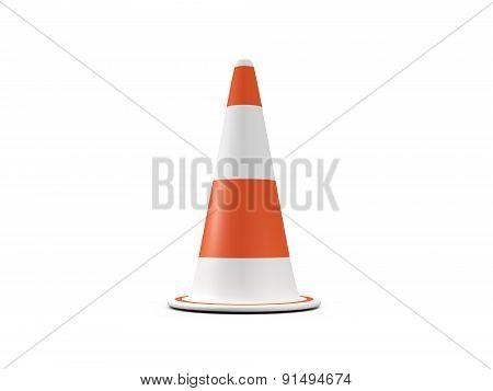 Circular Traffic Cone