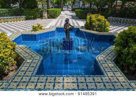 Fountain in Cadiz