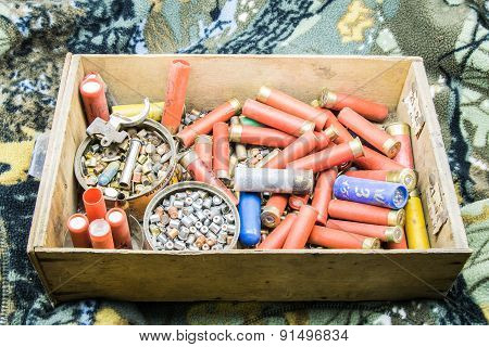 Old Material To Reload Ammunition