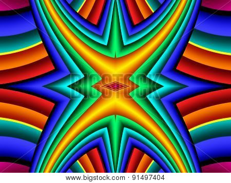 Colorful Abstract Background. Artwork For Creative Design, Art And Entertainment