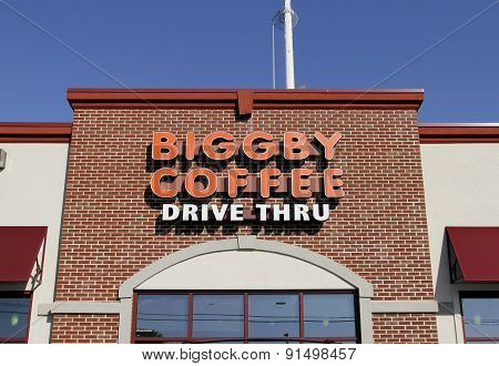 Biggby Coffee Sign