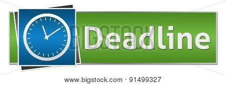 Deadline Blue Green Button Style