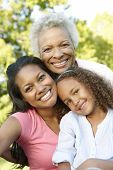 picture of grandmother  - African American Grandmother - JPG