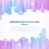 image of  art  - Watercolor Colorful Abstract Background - JPG