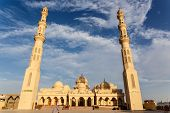 picture of stratus  - Exterior of El Mina Masjid Mosque in Hurghada Egypt - JPG