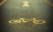 image of bike path  - Bike lane - JPG