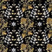 foto of damask  - Abstract beautiful background - JPG