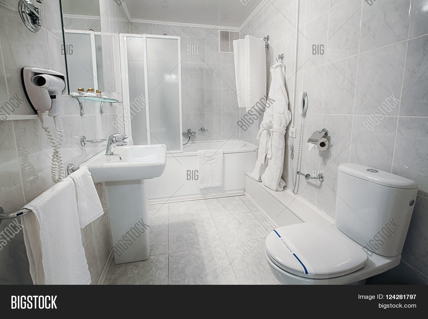 Interior design hotel bathroom image photo bigstock for Clean bathroom designs