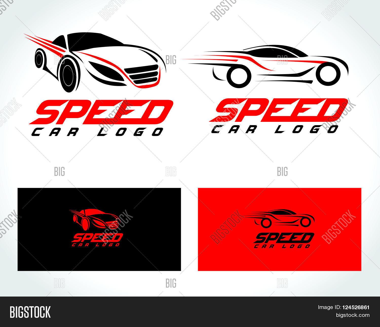 Speed Car Logo Design. Creative Vector & Photo | Bigstock