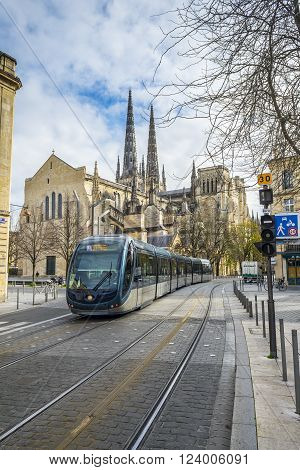 Bordeaux France - March 26 2016: 