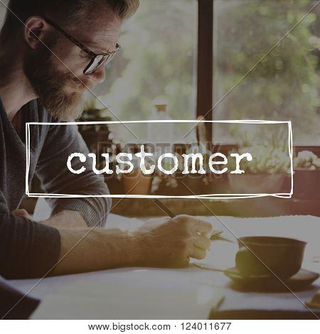 Customer Business Buyer Client Concept