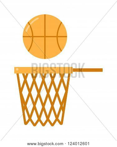 basketball ball net vector illustration. basketball ball net isolated on white background. basketball ball net vector icon illustration. basketball ball net isolated vector. basketball ball net silhouette