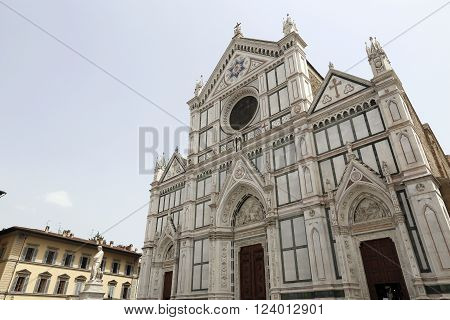 Basilica di Santa Croce (Basilica of the Holy Cross in Florence Italy
