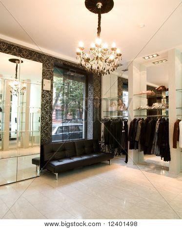 luxury boutique interior