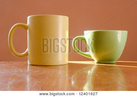 two cups