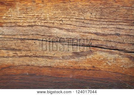 Brown Cracked Wooden Board
