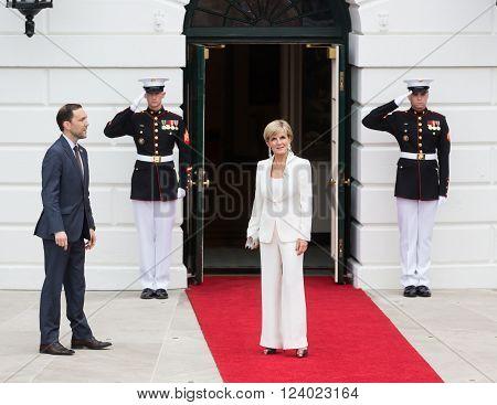Australian Foreign Minister Julie Bishop