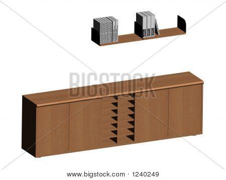 Shelf And Cabinet