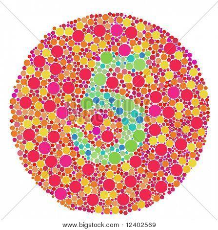 Color blind test - 5