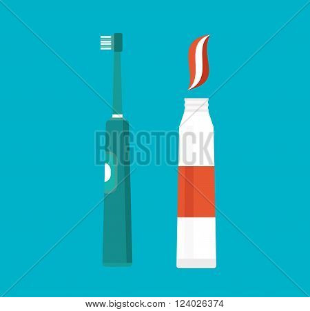 Tooth brush vector illustration. Tooth brush isolated on white background. Tooth brush vector icon illustration. Tooth brush isolated vector. Tooth brush silhouette
