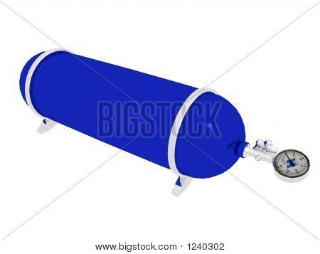 Distickstoffoxid Flasche